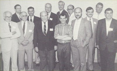 12th IHR Conference speaker photograph - Sept 3 to 5 1994 - David Cole at center.jpg